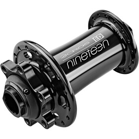 ACROS Nineteen ED Front Wheel Hub TA15, black